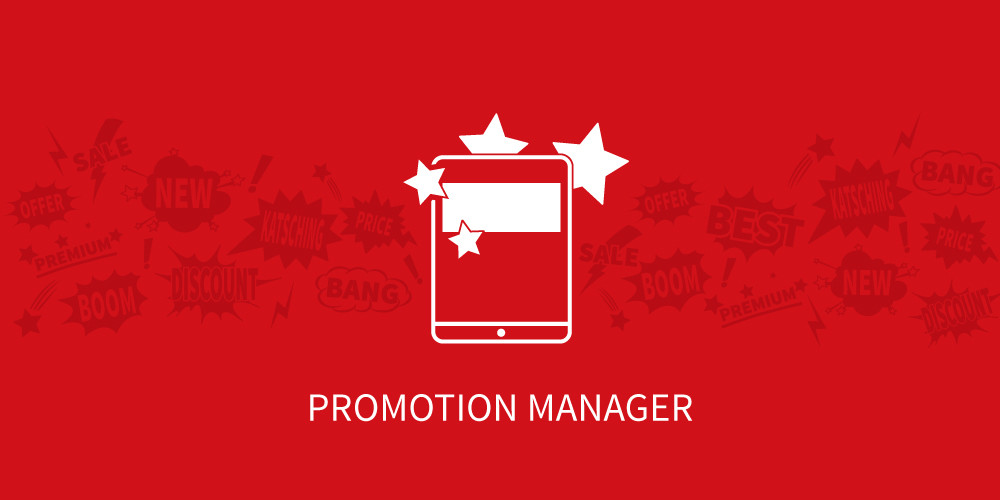 Feature: Promotion Manager