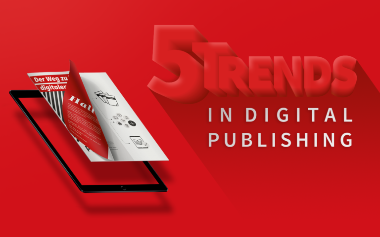 five trends in digital publishing
